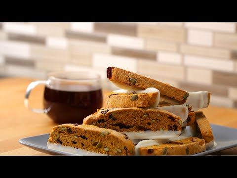 Pumpkin Spice Biscotti To Satisfy Your Fall Dreams • Tasty