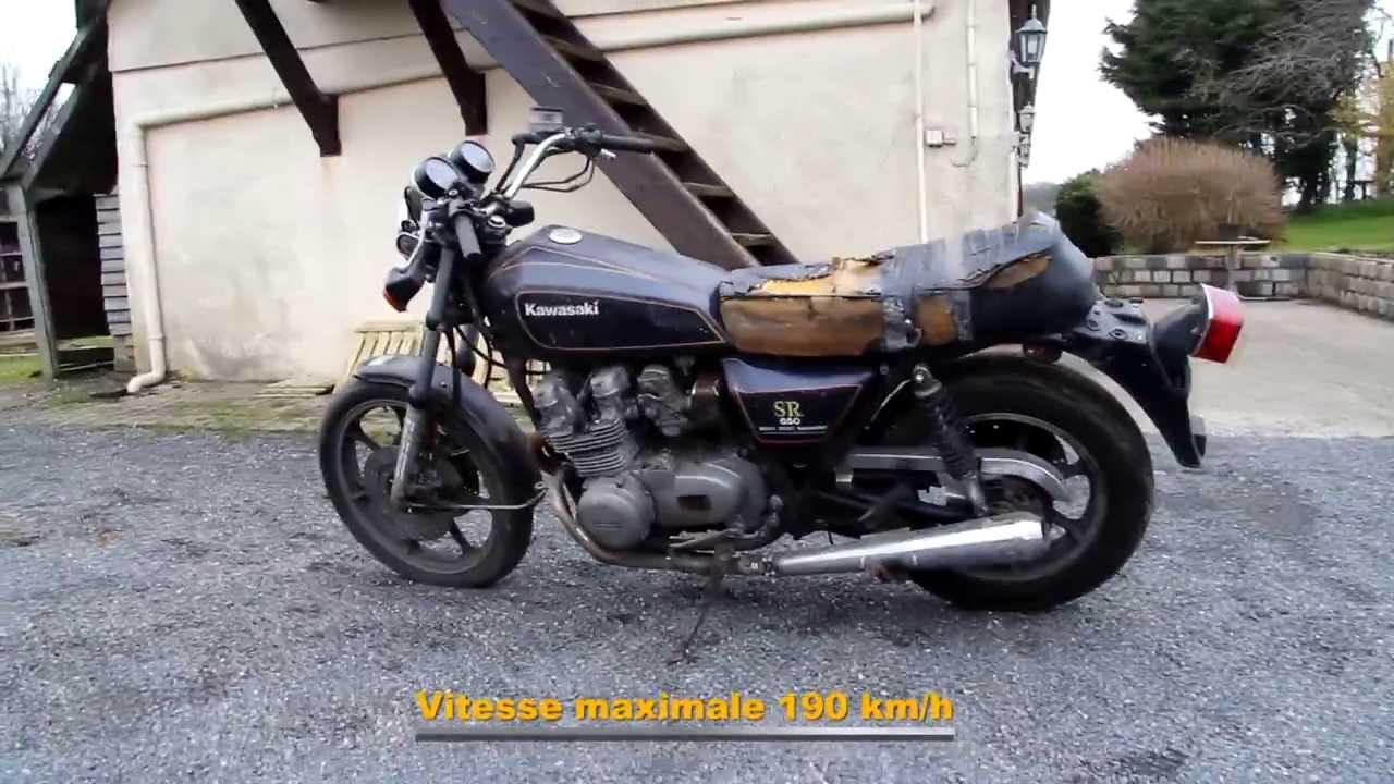 cafe-racer - kawasaki sr 650 - motoracer76 - youtube