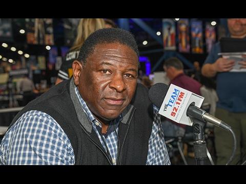 Jackie Slater on Radio Row at Super Bowl LI