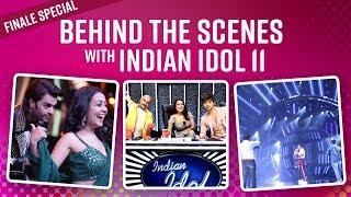 Behind The Scenes on Neha Kakkar, Himesh Reshammiya's Indian Idol 11 set | Finale Special