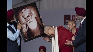 His Holiness 14th the Dalai Lama visits Chandigarh University