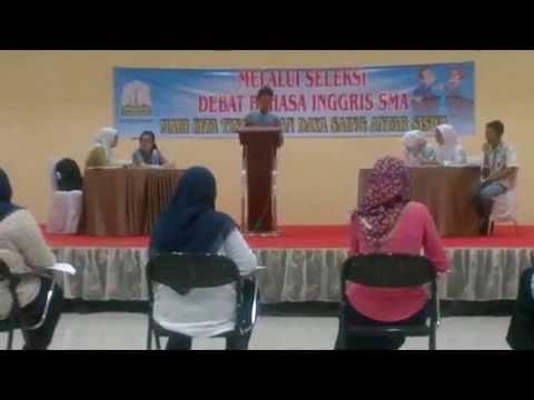 Final Seleksi Debat Bahasa Inggris Tingkat Provinsi Aceh 2014