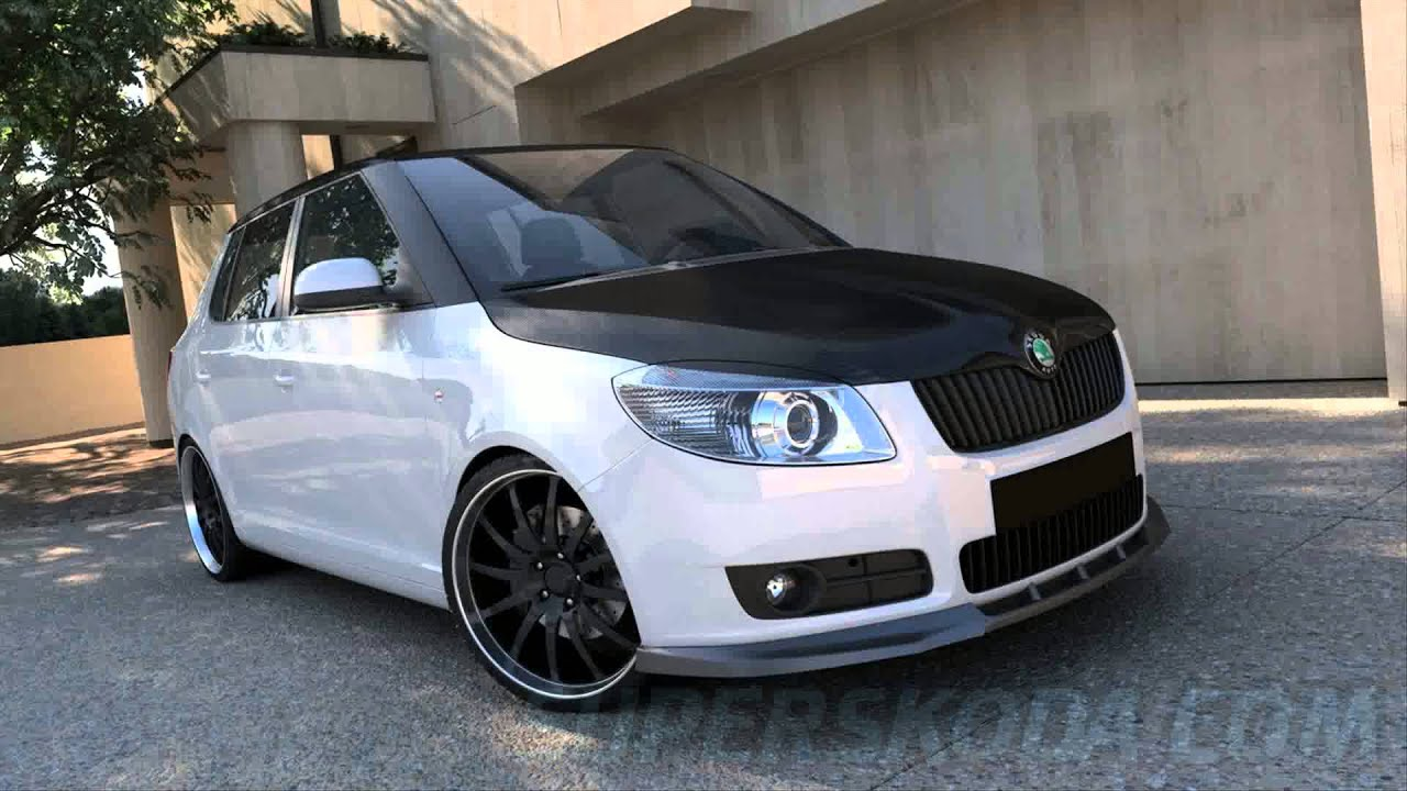 skoda fabia tuning youtube. Black Bedroom Furniture Sets. Home Design Ideas