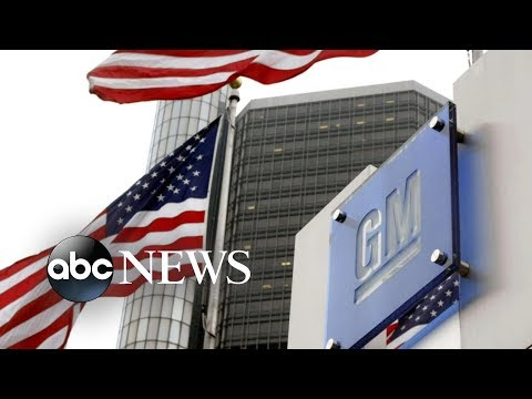 General Motors announce major layoffs, plants shutdown