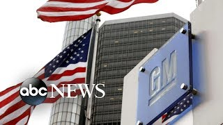General Motors announce major layoffs, plants shutdown
