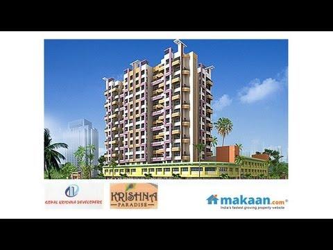 Krishna Paradise Haji Malang Road Kalyan East Mumbai Residential Apartmeants Youtube