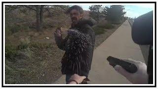 Shot After Pepper Spraying Flagstaff Officer (Matthew Dearing)   Body Cam   United States   20190409