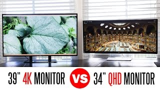 Download lagu Whats Better A 4k Monitor Or A 34QHD UltraWide Monitor MP3