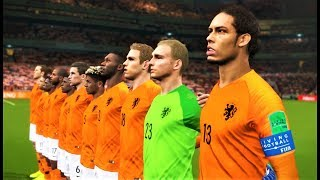 Netherlands vs Germany 2018 | Full Match & All Goals | PES 2018 Gameplay HD