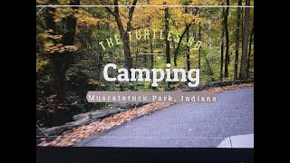 Fall Camping in Souтhern Indiana