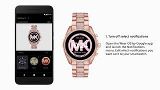 Michael Kors Access Bradshaw 2 Smartwatch | How To Get The Most Out Of Your Smartwatch