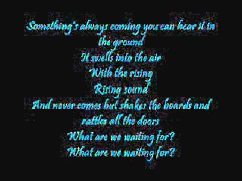 Believe- The Bravery (Lyrics)