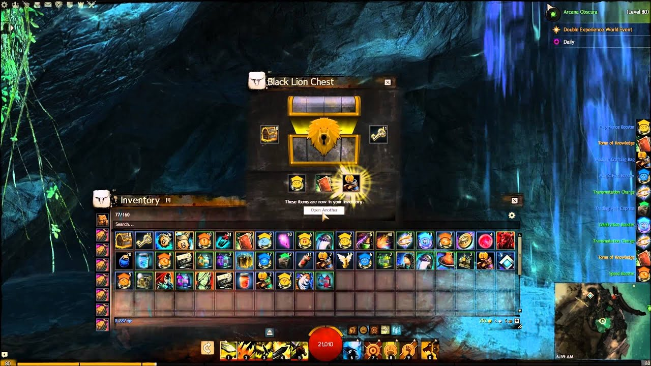 gw2 opening 100 black lion chests jan 25 2015 pax south expansion announcement youtube. Black Bedroom Furniture Sets. Home Design Ideas