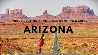 Unique destinations and fŗee camping in Arizona and south Utah