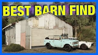 Forza Horizon 3 Online : BEST BARN FIND!!