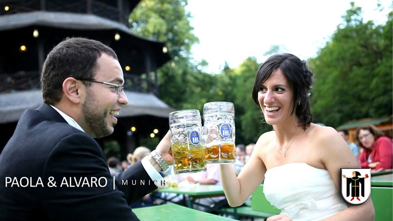 Italian + Spanish Wedding in Munich