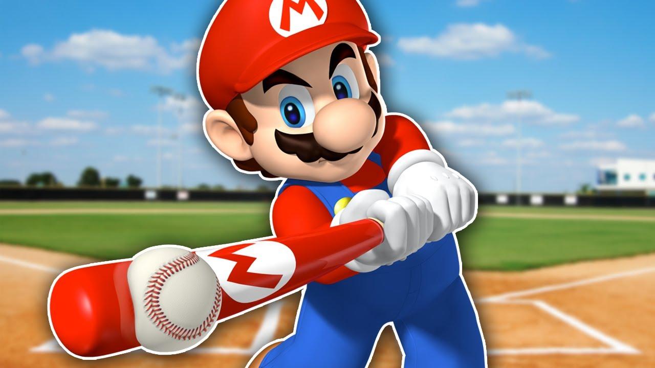mario superstar baseball backyard baseball but with mario funny