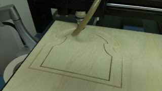 Cnc Router Time Lapse Of Plywood Cut