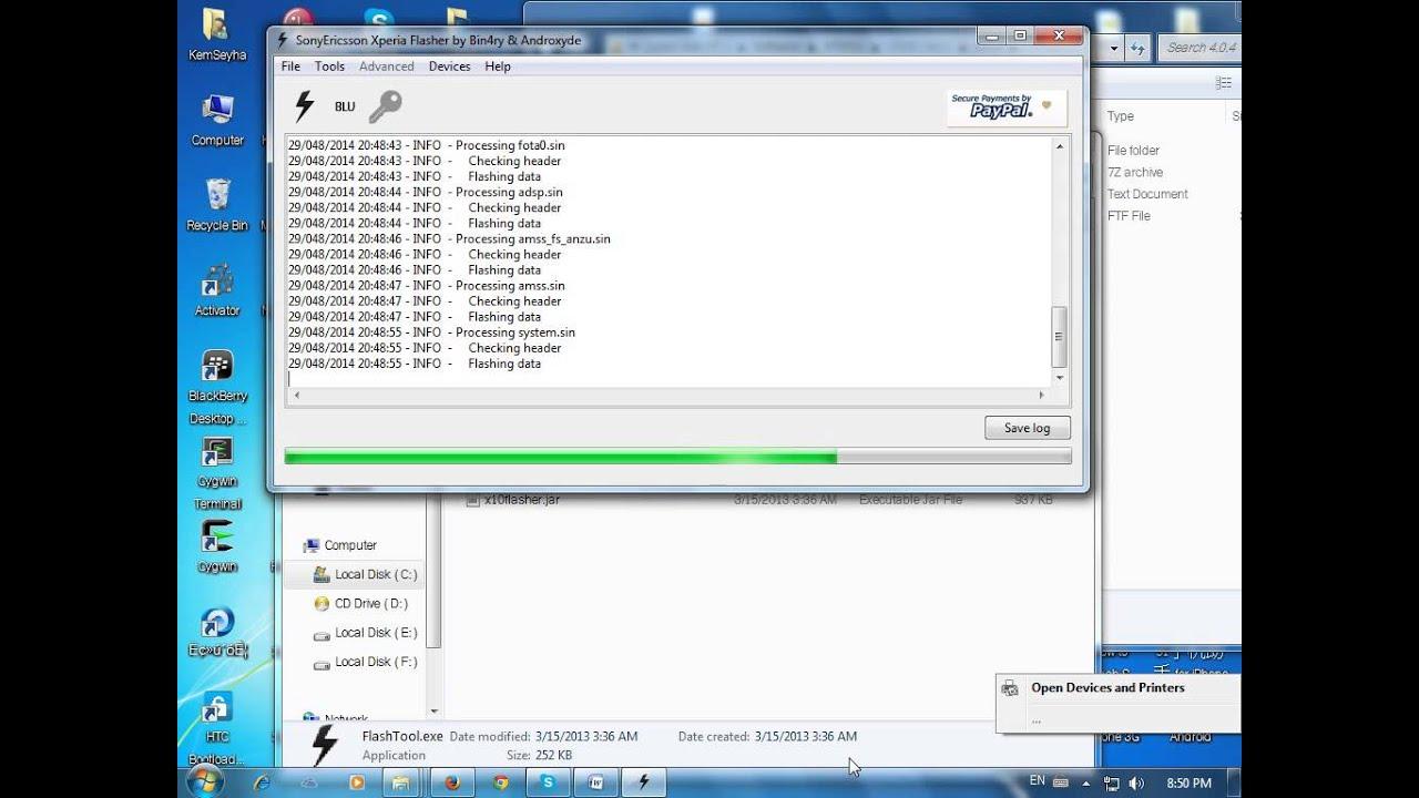 Flashtool Xperia Driver Pack 1.9