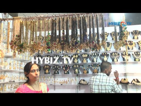 Fancy 1 Gram Gold Mangalsutra and Bead Designs-South Indian Exhibition| hybiz