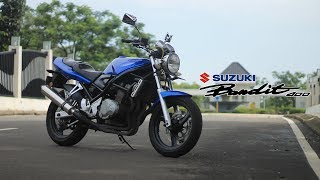 Video MOGE 4 SILINDER CUMA 30 JUTAAN !? | Test Ride Suzuki Bandit 400 download MP3, 3GP, MP4, WEBM, AVI, FLV September 2018