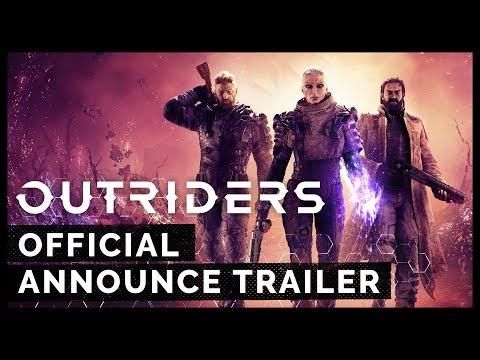 Outriders – Official Announce Trailer | E3 2019 [PEGI]