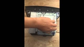 How to replace NTG2.5 hard drive