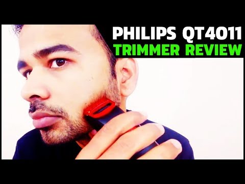 Philips QT4011/15 Trimmer Review | Beard Trimmer For Men (Live Trimming Test)