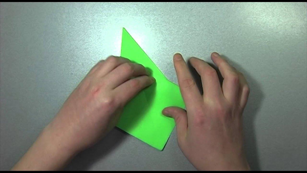 сделать журавлика из бумаги оригами схема