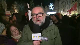 Wiec upamiętniający Pawła Adamowicza | OnetNews