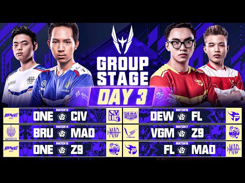AWC 2021   Group Stage   Day 3