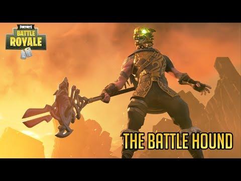 The Battle Hound Hunts - Fortnite Battle Royale