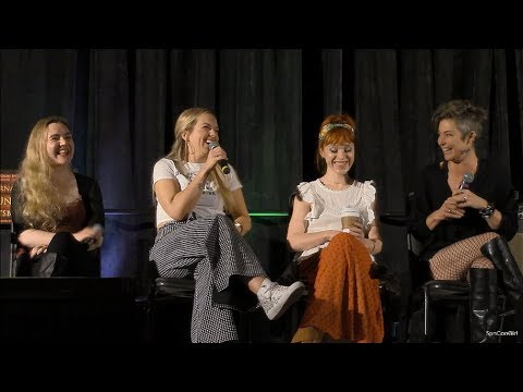 SpnPitt 2018 Rachel Miner Ruth Connell Kim Rhodes and Briana Buckmaster FULL Panel Supernatural