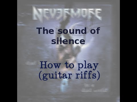 how to play sound of silence on guitar easy