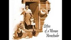 LETTERS OF A WOMAN HOMESTEADER by Elinore Pruitt Stewart FULL AUDIOBOOK | Best Audiobooks