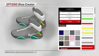 NBA 2k18 Nike Mags Custom shoe !!!!  dfcc27ab9