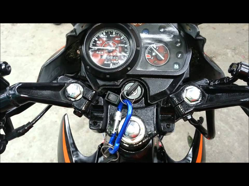 maxresdefault honda xrm 125 converted to monoshock with big bike sound youtube honda xrm rs 125 wiring diagram at reclaimingppi.co
