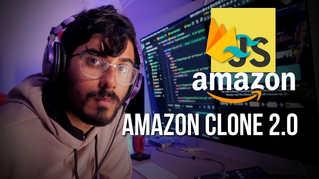 Build a New Amazon Clone using HTML, Tailwind CSS, Firebase and ES6 JavaScript