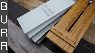 Bob Kramer by Zwilling Glass Whetstone Sharpening Kit Review and Demo