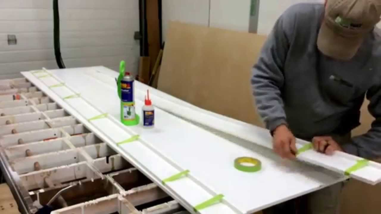 How to miter fold PVC trim using Fastcap 2P-10 adhesive