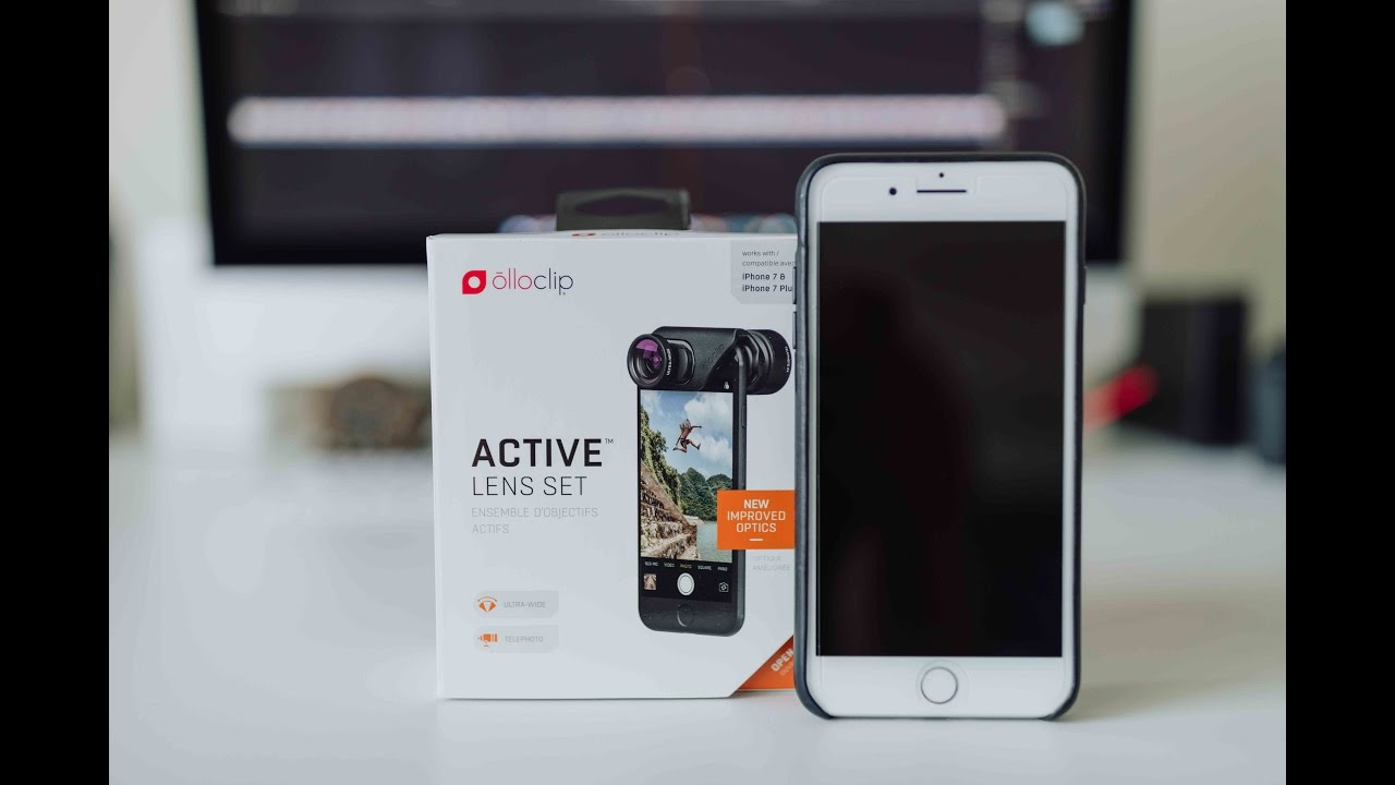 super popular ecce7 4e7ea Olloclip Active Lens Set for Apple iPhone 7 and 7 Plus Unboxing and Demo
