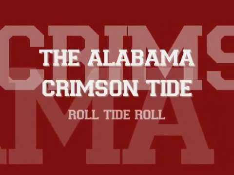 Yea Alabama! with lyrics