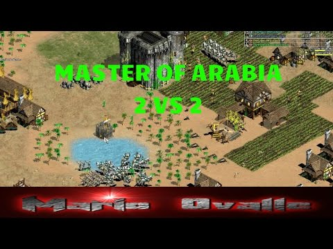 "THE VIPER + MBL ""semifinal"" TORNEO MASTER OF ARABIA 2 VS 2 AGE OF EMPIRES 2"