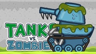 Танки против Зомби #12: Монстры в аквариуме | Мультик про танки
