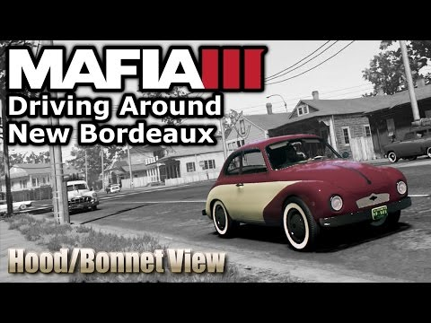 Mafia 3 - Safe Driving Around the Map in Hood View (New Bordeaux)