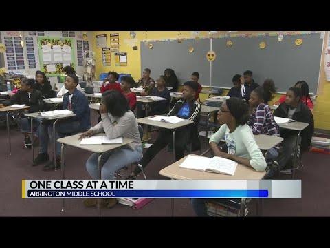 One Class: Arrington Middle School