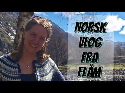Norsk Vlog fra Flåm - With Subtitles