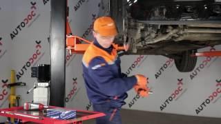 Ako vymeniť predné vonkajšie puzdrá stabilizátora na MERCEDES-BENZ M W163 [NÁVOD]
