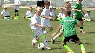 Бесплатные занятия футболом для детей начинаются сегодня в Краснодаре