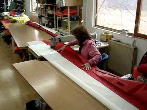 Máquinas de coser zig zag de brazo largo para cosido de